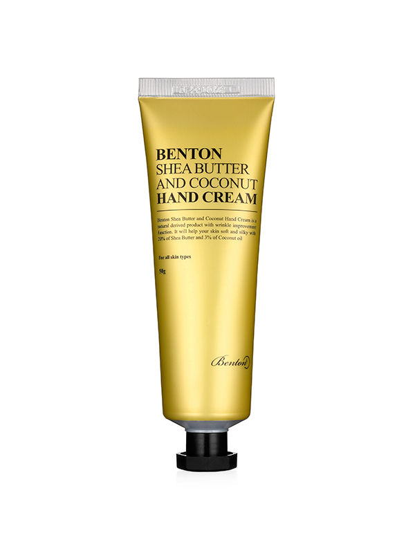 benton shea butter coconut hand cream